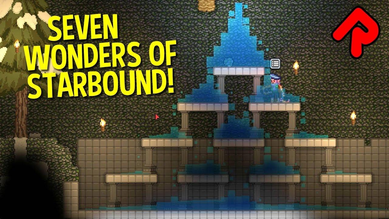 Mountain Fountain of Australis! (#1) | SEVEN WONDERS OF STARBOUND