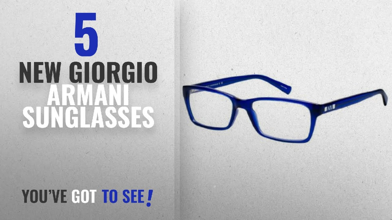 5c0cb6d90d42 Top 10 Giorgio Armani Sunglasses   Winter 2018    Armani Exchange ...