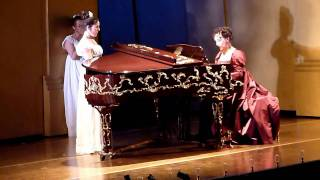 "Alexandra Sherman (mezzo-soprano) sings Pauline (P.I.Tchaikovsky ""The Queen of Spades"" Act.1)"