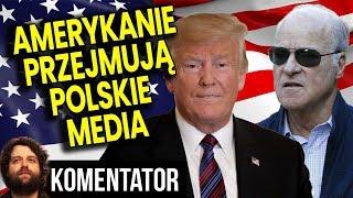 Amerykanie Przejmują Duże Media w Polsce - PIS Zachwycony - Analiza Komentator Polityka USA Trump PL