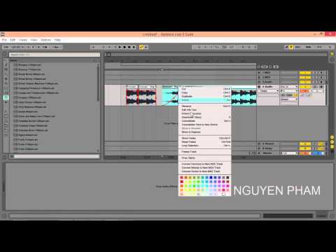 Huong dan su dung Ableton Live bài 3