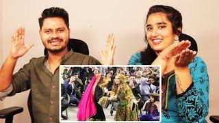 Indian Reaction On pashto Attan dance   Afghan Qarsak   Krishna Views