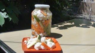 Мировая закуска! Быстрые хрустящие маринованные овощи за 24 часа - Туршия.