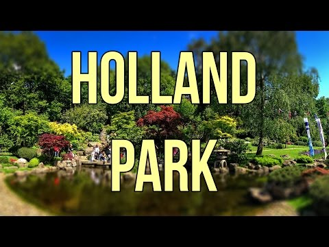 A NATURAL PARADISE IN LONDON // Holland park