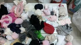 SOCKS - детские носки, колготки сток 5.65 кг 1 меш 17,1евро/кг ~160пар(, 2016-06-22T11:20:37.000Z)