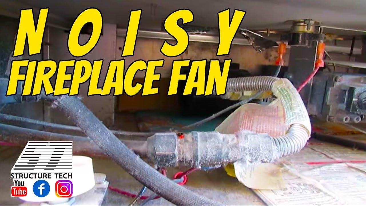 noisy fireplace fan youtube