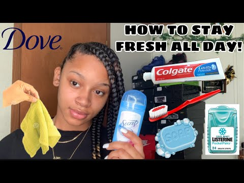 GIRL TALK: HOW TO STAY FRESH ALL DAY + HYGIENE TIPS.