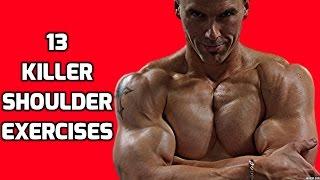 13 Killer Shoulder Exercises for your Shoulder Workouts
