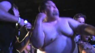 HD Version!! FAT GUY CRASHES STAGE & STRIPS DURING MY DARKEST DAYS CONCERT -