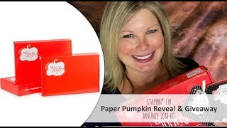 Video *Spoiler Alert* January 2018 Paper Pumpkin Kit Reveal and Giveaway download MP3, 3GP, MP4, WEBM, AVI, FLV Januari 2018