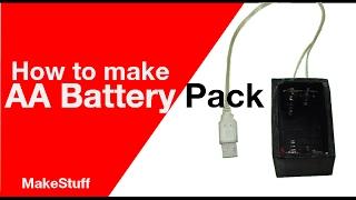 Comment faire une clé USB AA Batterie | Maison