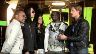 Black Eyed Peas New Year's Interview