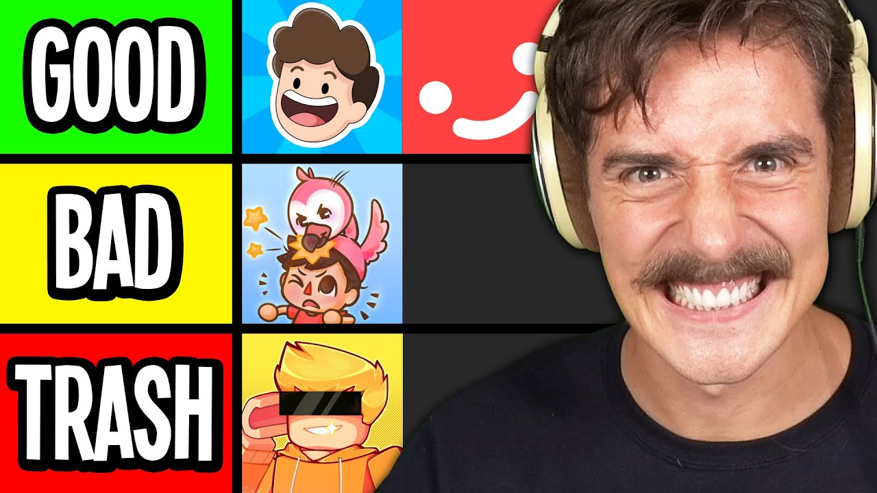 Rating Roblox YouTubers (Tier List)