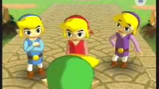 The Legend of Zelda: Four Swords Adventures - Tetra's Trackers Intro