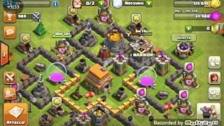 Clash of clans trucco per salire di trofei e di xp