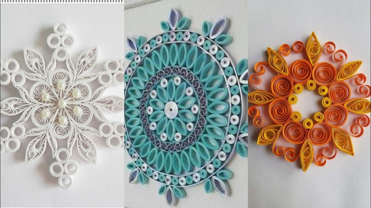30 BEAUTIFUL PAPER QUILLING ART , PAPER QUILLING DECORATION IDEAS