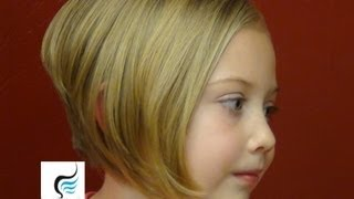 How to (Style Stacked Bob Cut Aline Hairstyles) On Little Girls