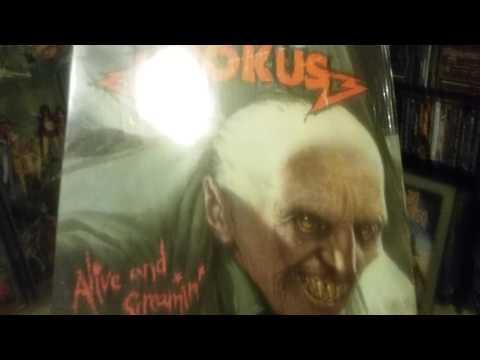 Metal cd, vinyl collection (krokus + fastway)
