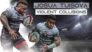 Unstoppable Genetic Freak | Josua Tuisova Violent Collisions, Big Hits, Bump Offs And Aggression