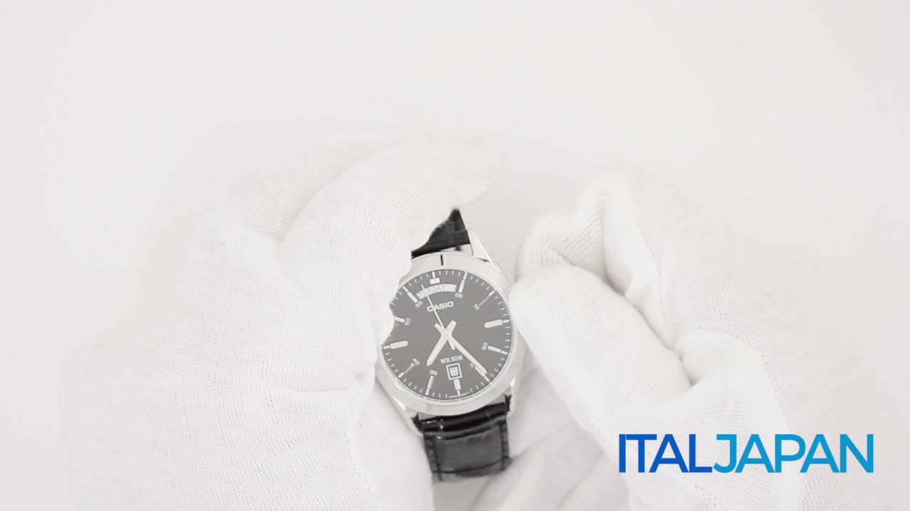 03021214c54a Orologio Casio Collection MTP-1370PL-1A - YouTube