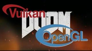 dOOM OpenGL vs Vulkan GTX 960