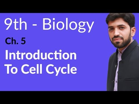 Introduction to Cell Cycle - Biology Chapter 5 Cell Cycle - 9th Class