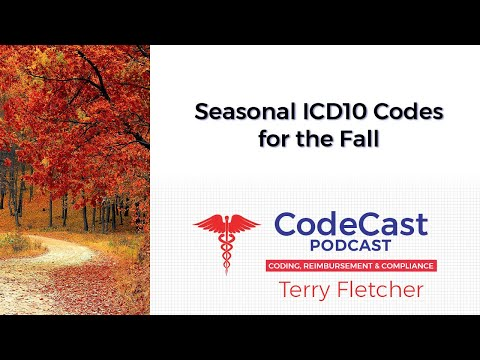 Seasonal ICD10 Codes For The Fall
