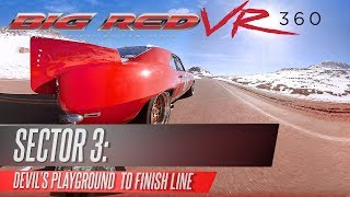 360° VR Video: Big Red Camaro vs Pikes Peak Car Race (Sector 3) thumbnail