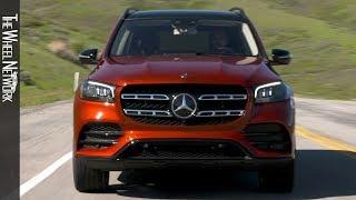 2020 Mercedes-Benz GLS 580 4MATIC | Hyacinth Red | Driving, Interior, Exterior
