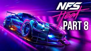 NEED FOR SPEED HEAT Gameplay Walkthrough Part 8 - K.S Edition Corvette (Full Game)