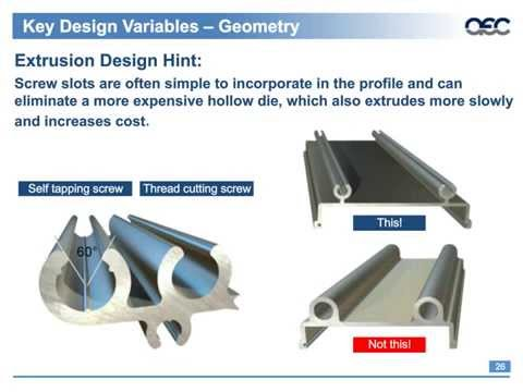 Beyond the Basics: Creating Extrusions to Meet Product Challenges