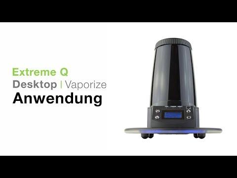 Arizer Extreme Q Vaporizer Verdampfer Anwendung – TVape