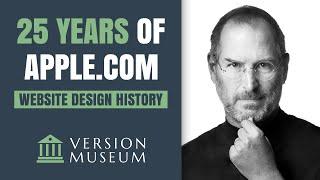 Gambar cover 25 Years of Apple.com Website Design History (1994-2019)
