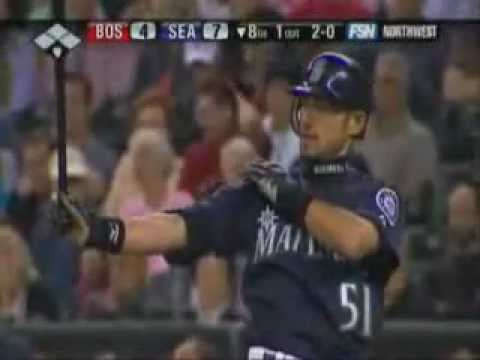 イチローがバントでホームラン Ichiro Suzuki Bunt Home Run
