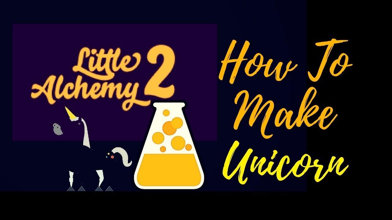 Little Alchemy 2 How To Make Unicorn Cheats Hints Youtube