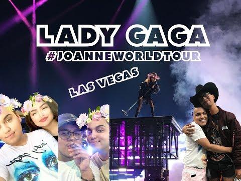 Lady Gaga JOANNE WORLD TOUR   LAS VEGAS Vlog
