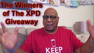 The XPD New Year Giveaway Winners