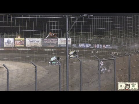 World Of Outlaws From Perris Auto Speedway Heat#3 Perris,Ca