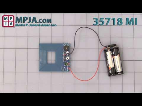 Simple Mini Metal Detector 35718 MI