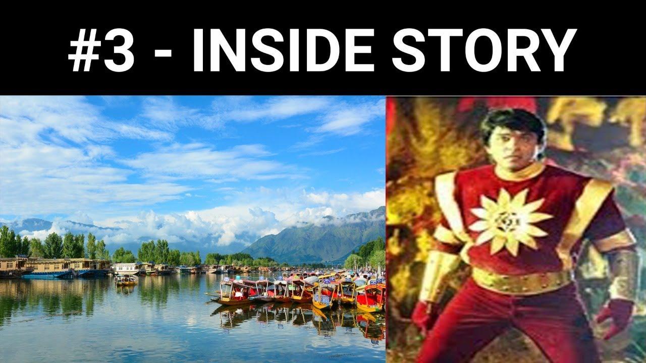 देखिए क्या हुआ शक्तिमान कास्टूम का श्रीनगर में !!!