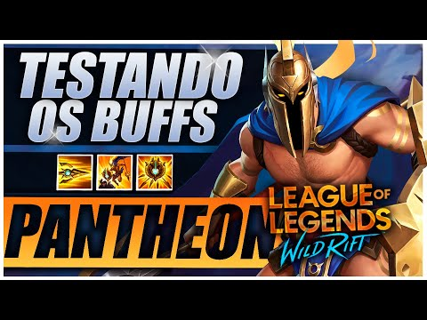 Testando os BUFFS ABSURDOS do Pantheon! l Top Gameplay PT-BR