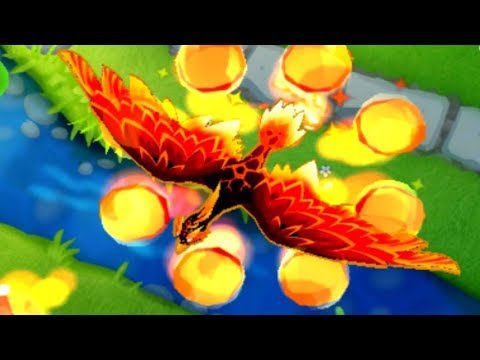 How Good Is The 5th Tier Wizard Lord Phoenix Now? (Bloons TD