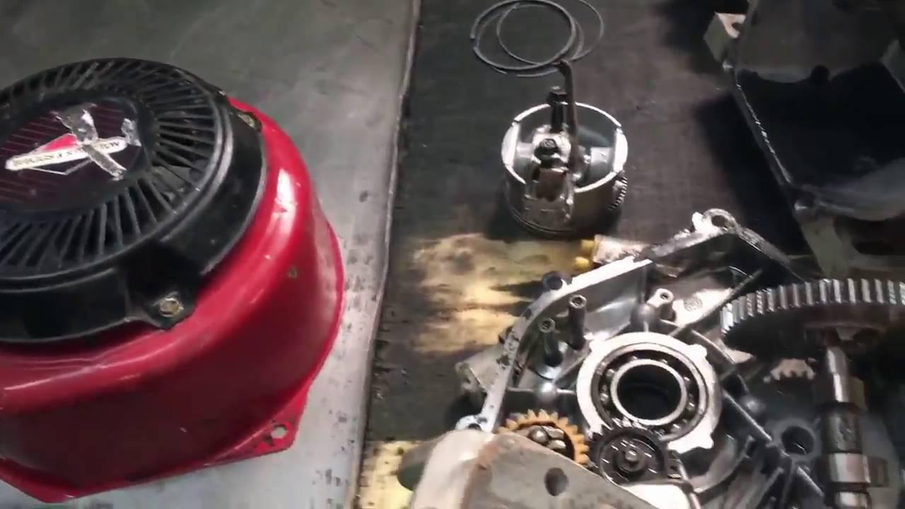 Ремонт двигателя briggs stratton своими руками