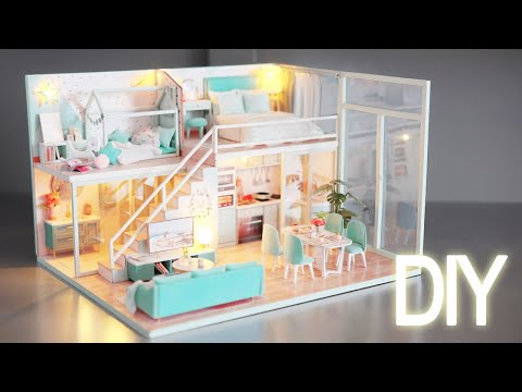 DIY Miniature Dollhouse Kit || Poetic Life – Miniature Land