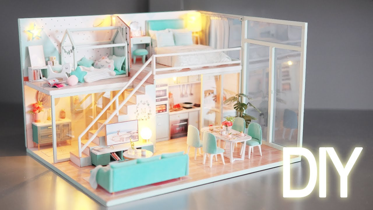 DIY Miniature Dollhouse Kit || Poetic Life - Miniature Land