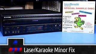 Pioneer LaserKaraoke Minor Repair
