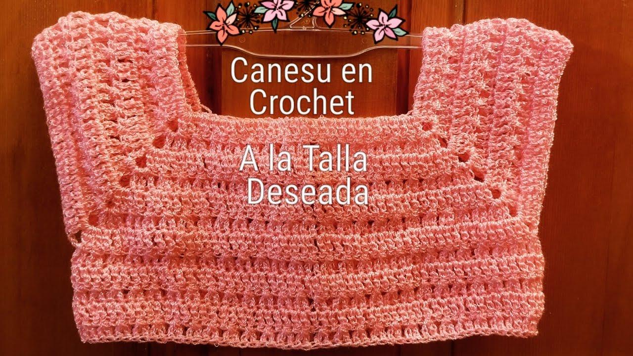 Canesu en Crochet para Vestiditos 21e49205423f