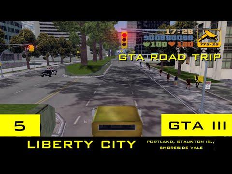 The GTA III Tourist: Liberty City - Portland, Staunton Island, Shoreside Vale
