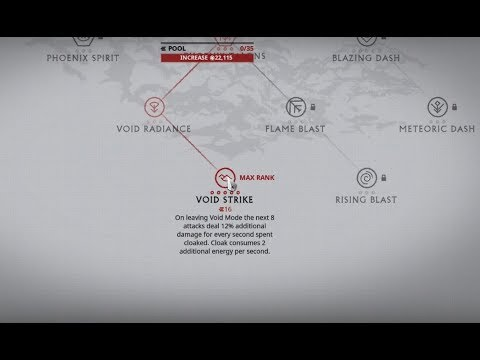 Warframe - One shot the Eidolon - Madurai Void Strike Buff