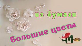 ✿ Как сделать цветы из бумаги ✿
